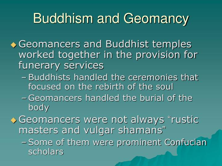 Buddhism and geomancy l.jpg