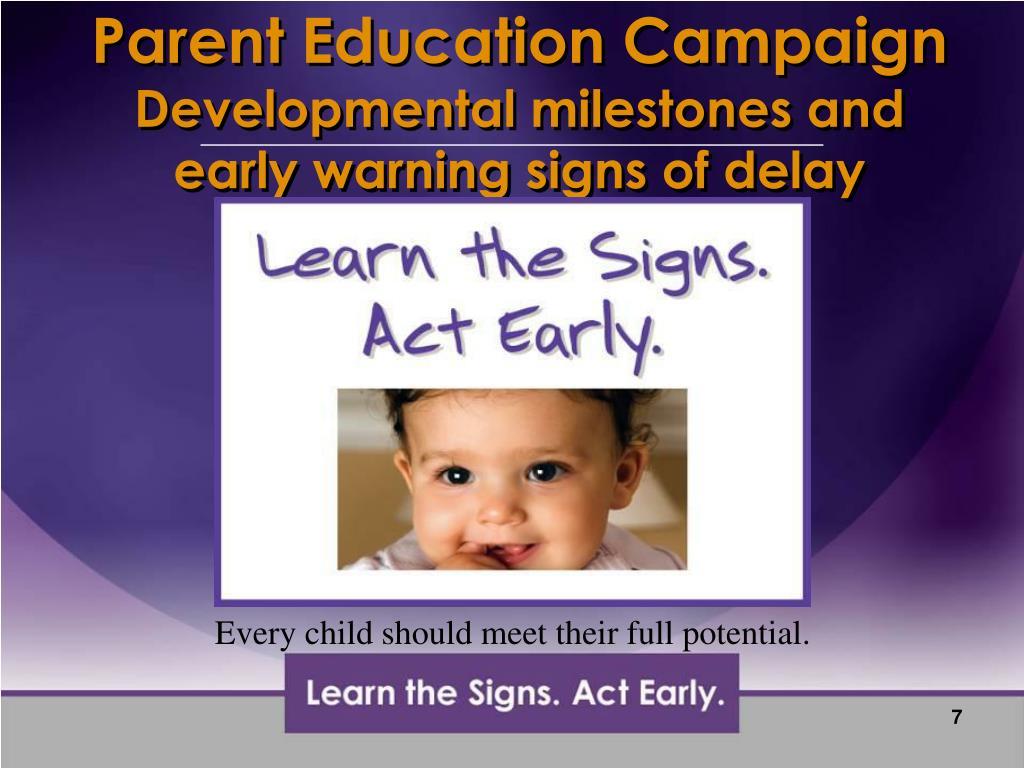 Parent Education Campaign