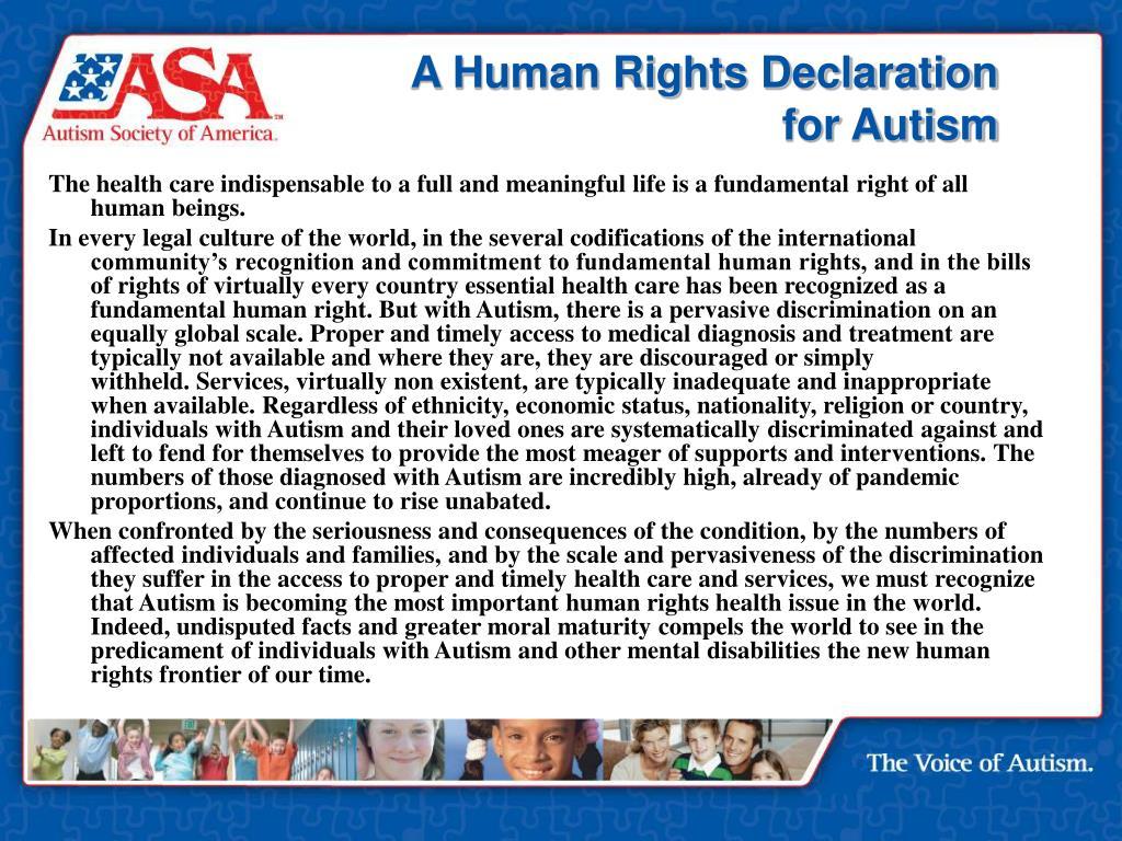 A Human Rights Declaration
