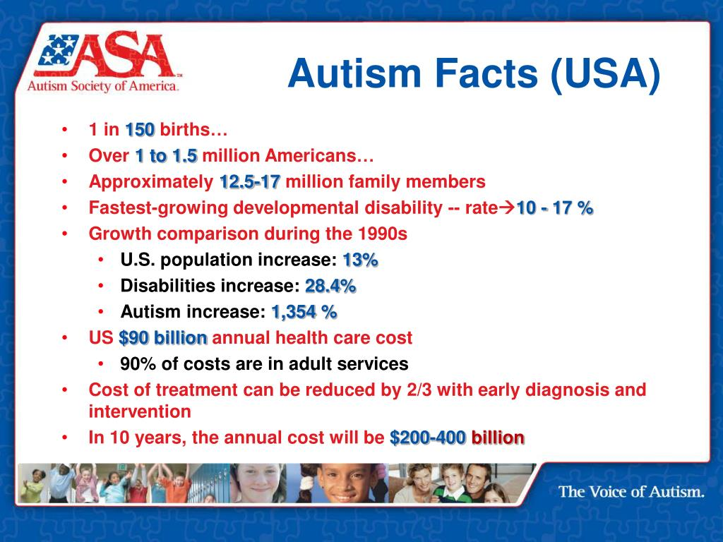 Autism Facts (USA)