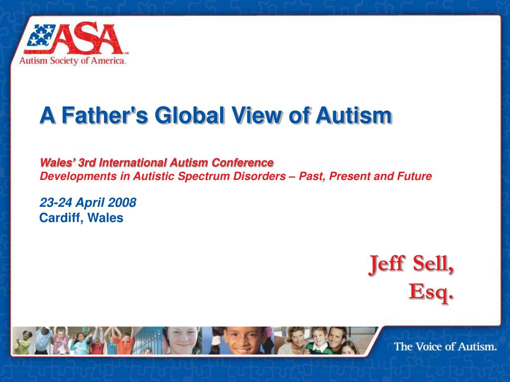 A Father's Global View of Autism