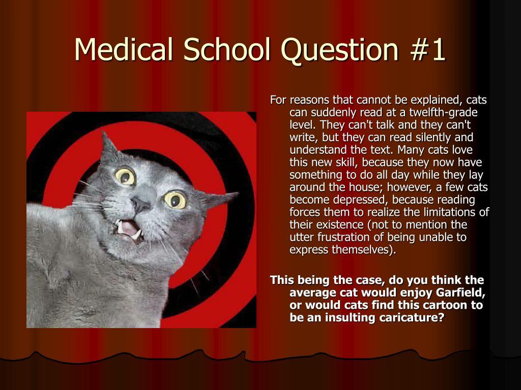 Medical School Question #1