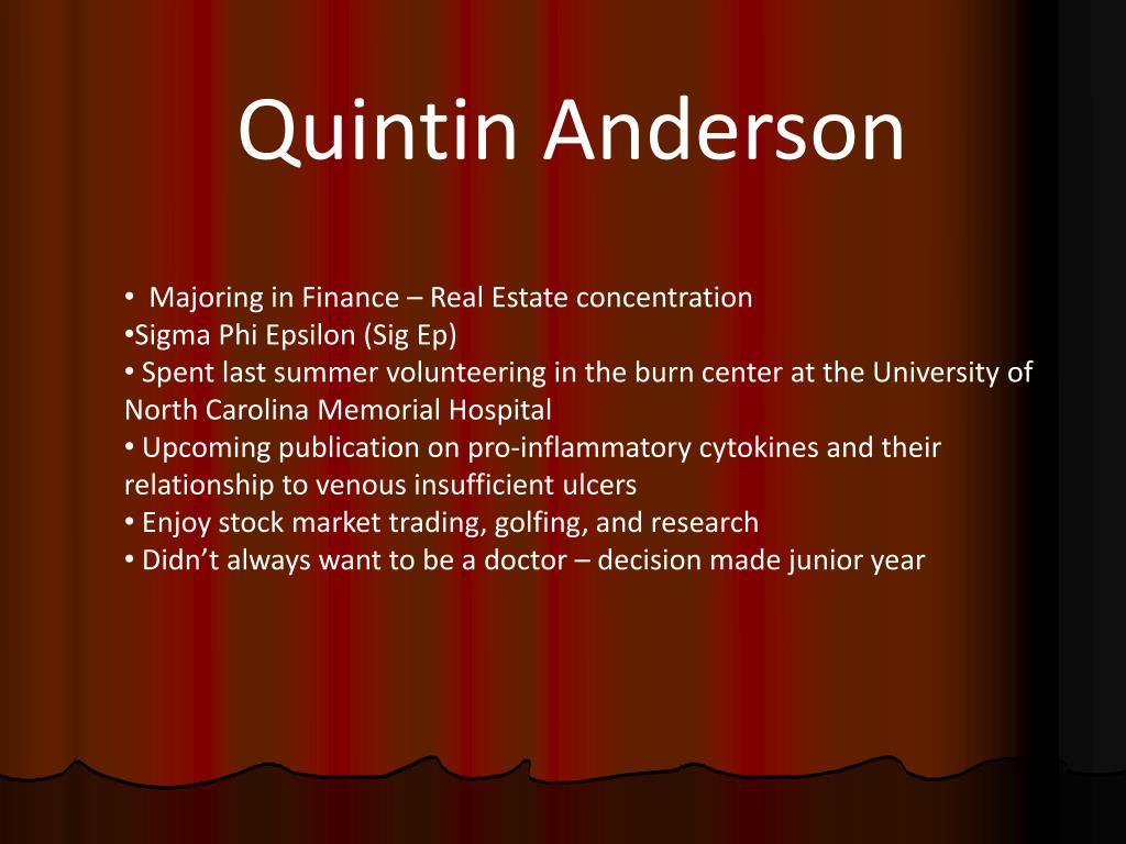 Quintin Anderson