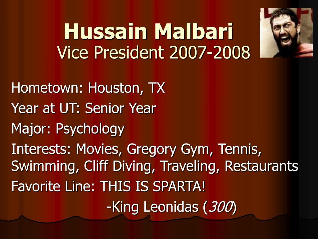 Hussain Malbari