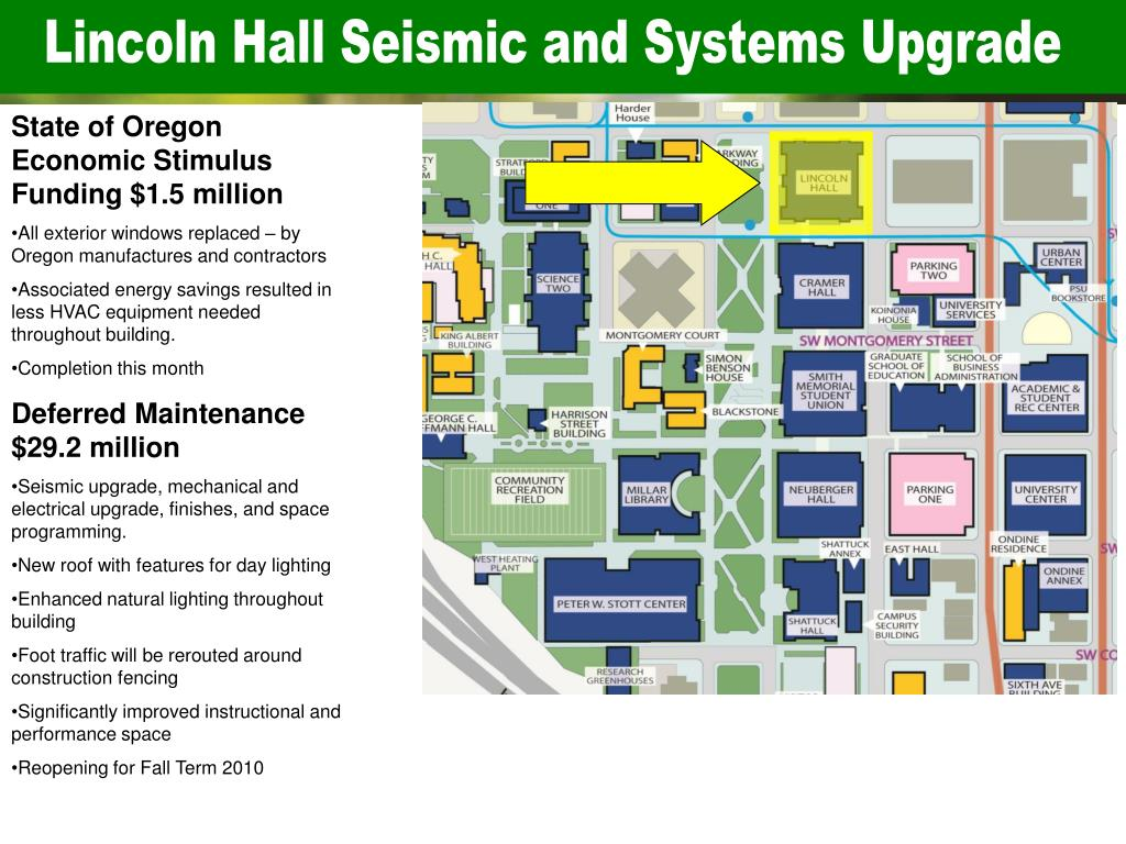 Lincoln Hall Seismic and Systems Upgrade