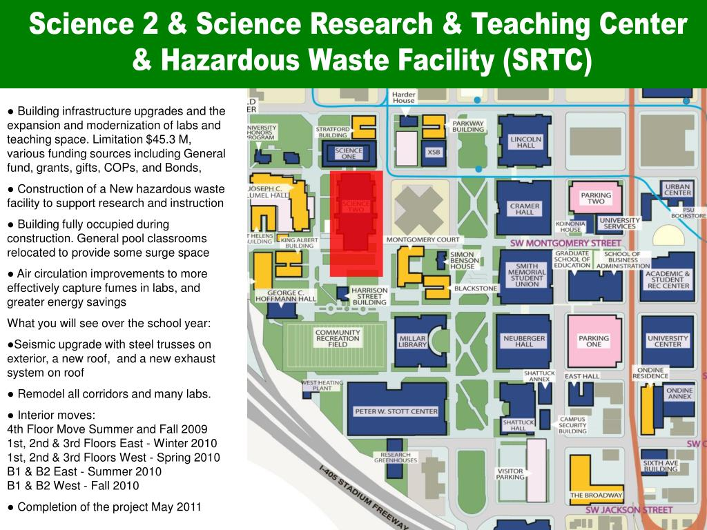 Science 2 & Science Research & Teaching Center