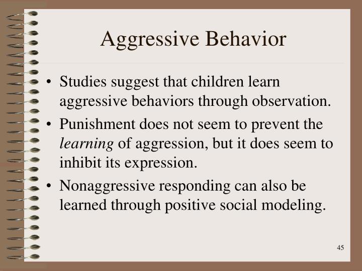 Aggressive Behavior
