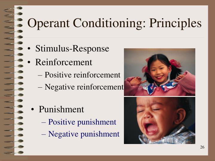 Operant Conditioning: Principles