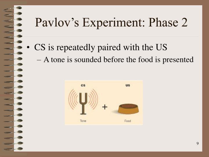 Pavlov's Experiment: Phase 2