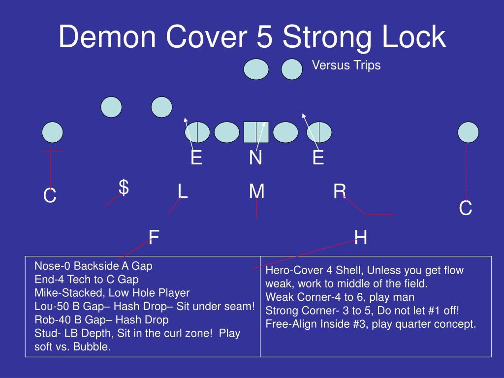 Demon Cover 5 Strong Lock