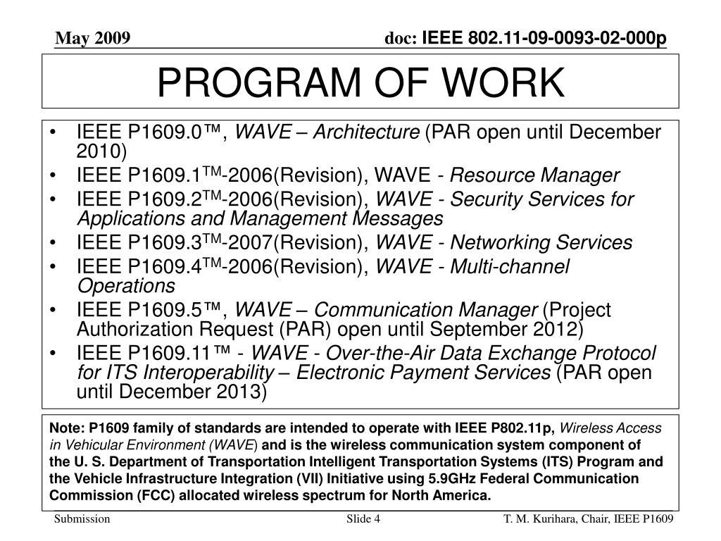 IEEE P1609.0