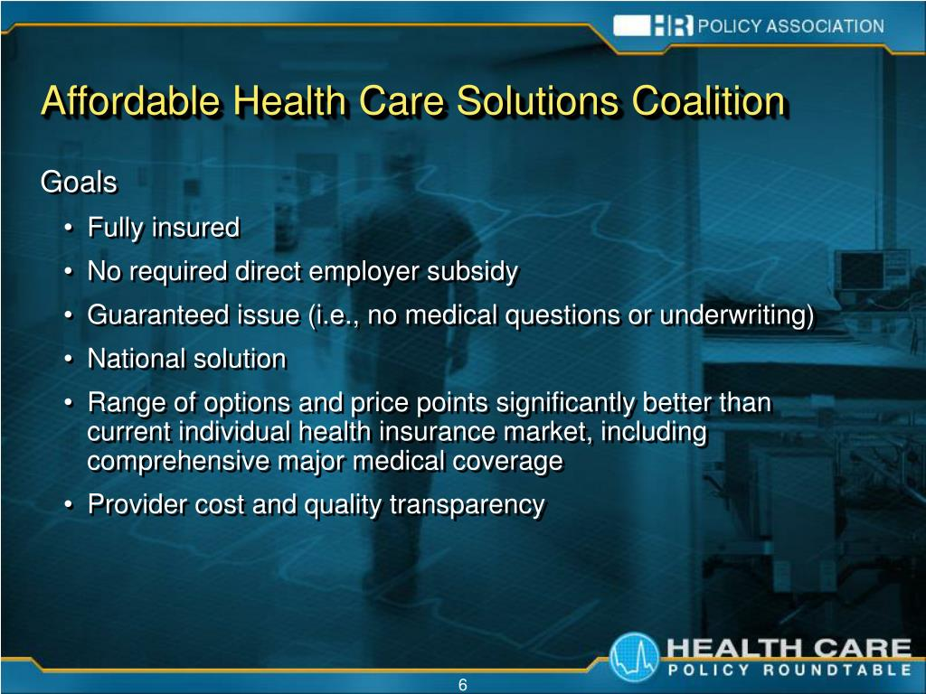 Affordable Health Care Solutions Coalition