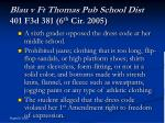 blau v ft thomas pub school dist 401 f3d 381 6 th cir 2005