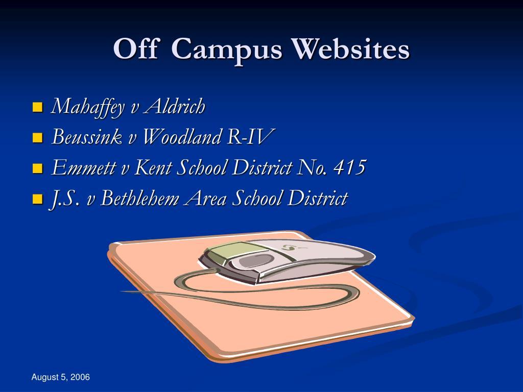 Off Campus Websites