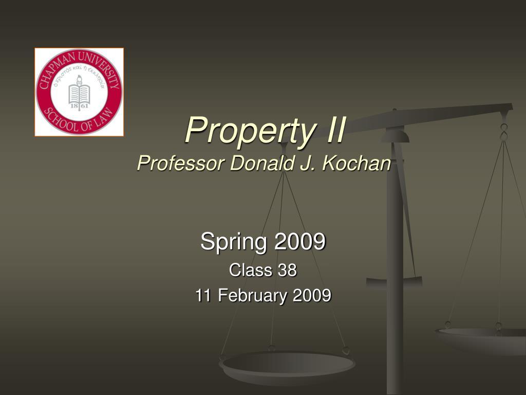 Property II