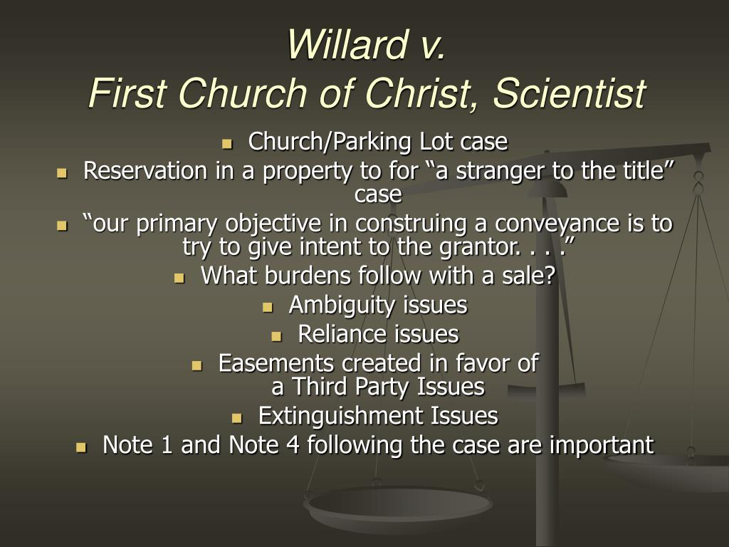 Willard v.