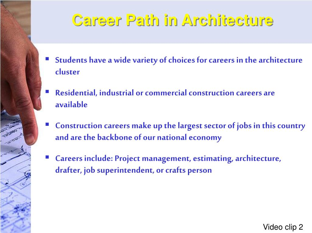 Career Path in Architecture