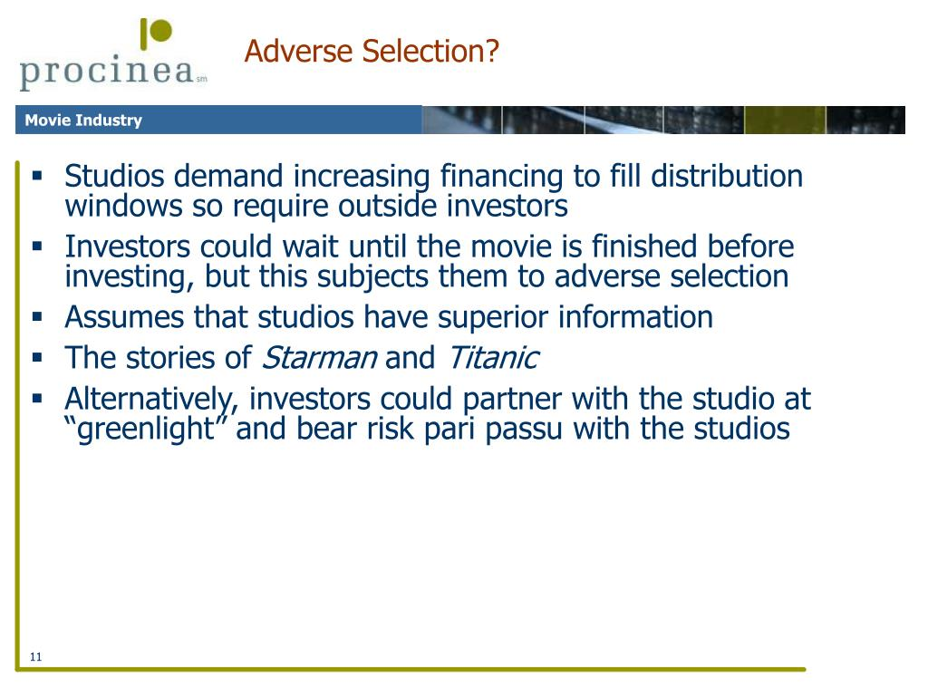Adverse Selection?