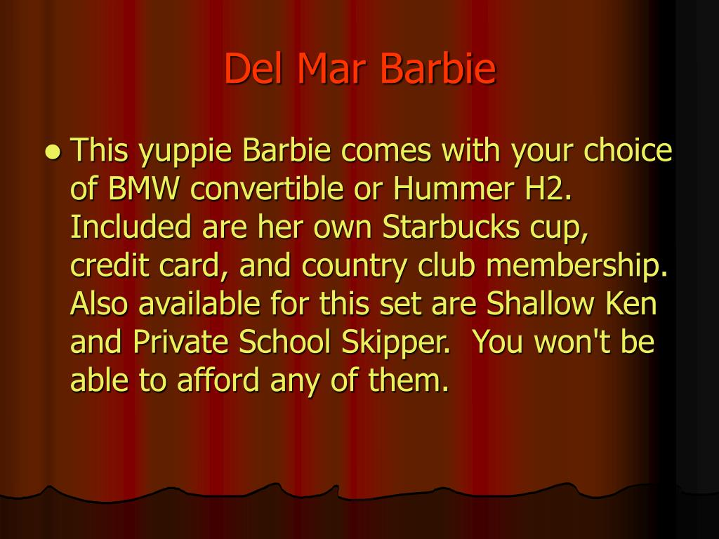 Del Mar Barbie