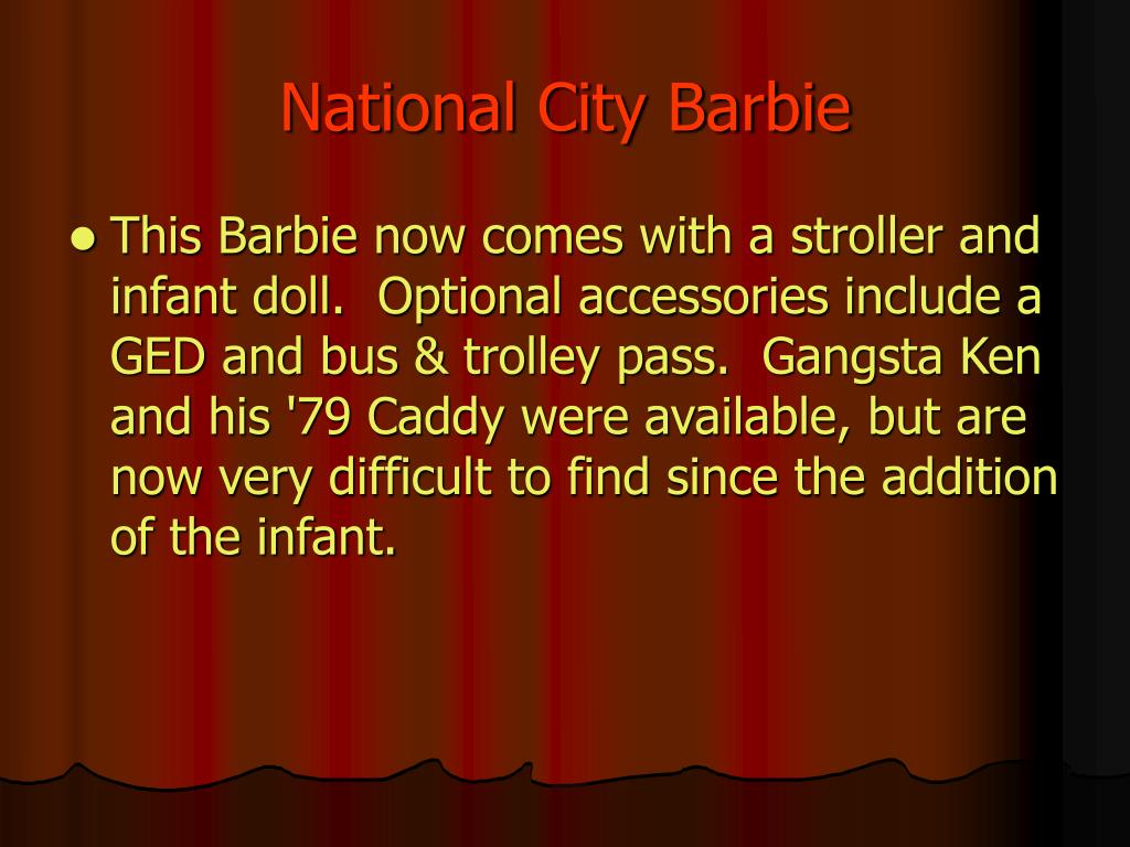 National City Barbie