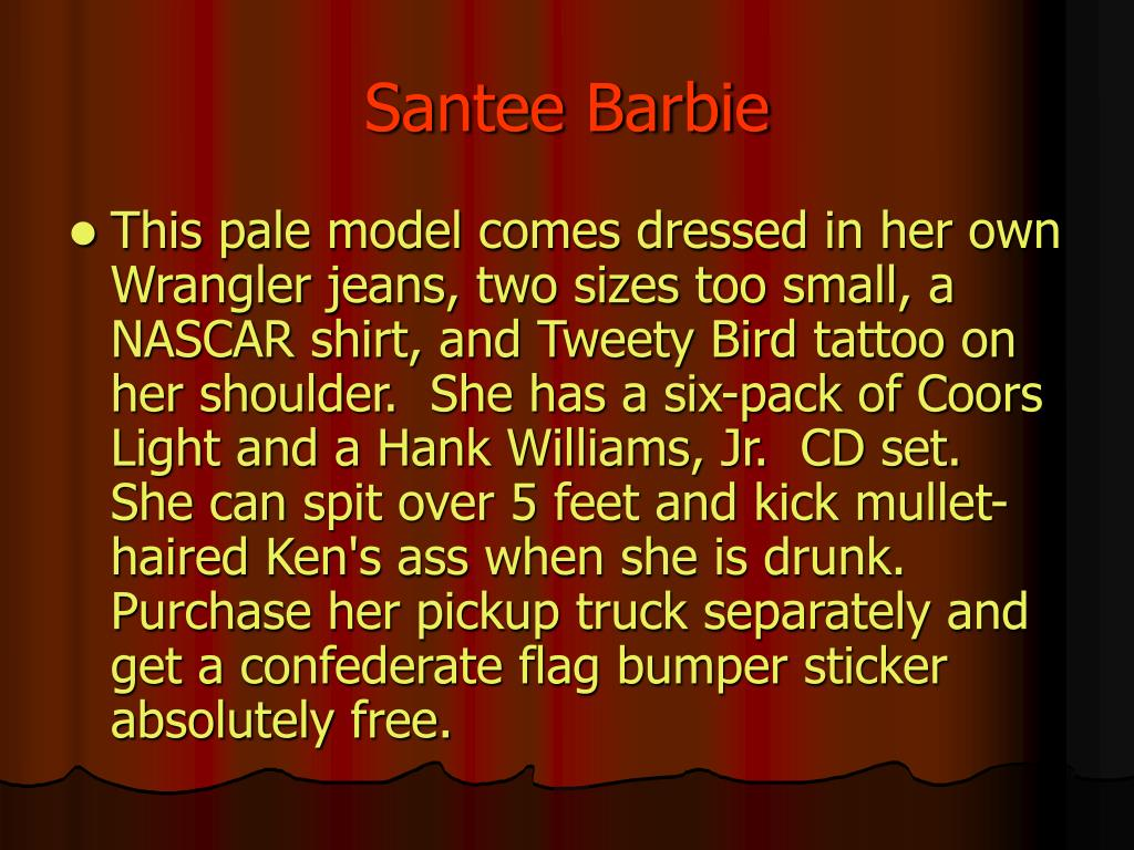 Santee Barbie