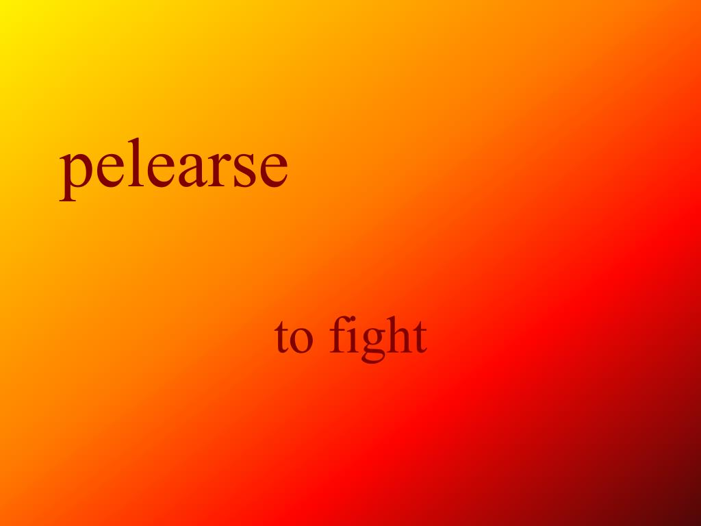 pelearse