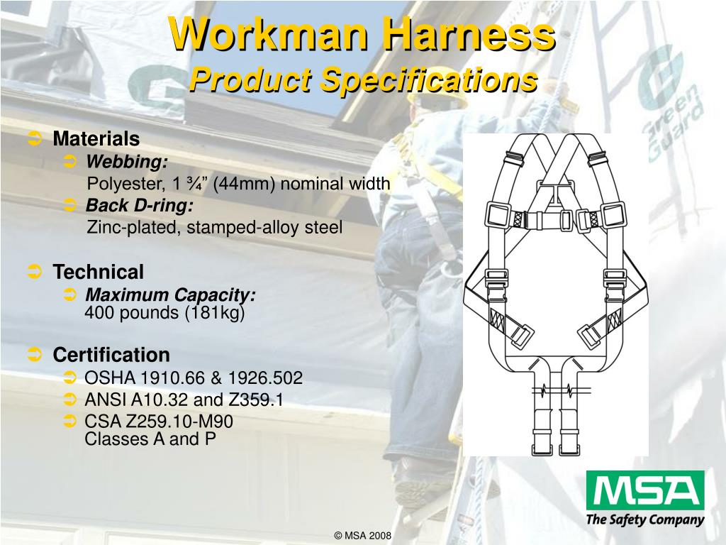 Workman Harness