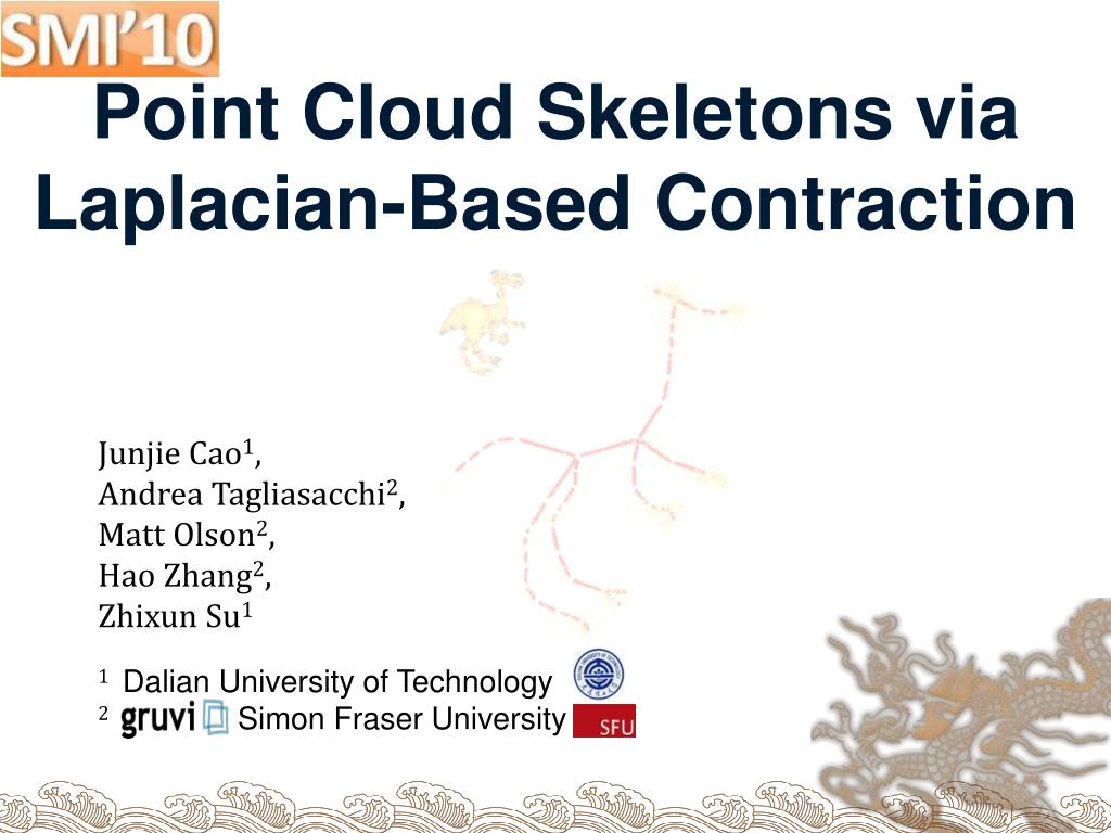 point cloud skeletons via laplacian based contraction
