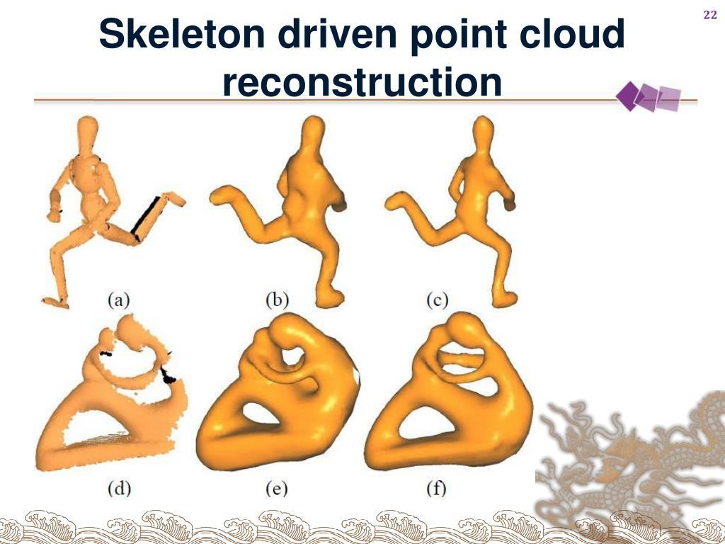Skeleton driven