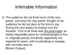 inferrable information48