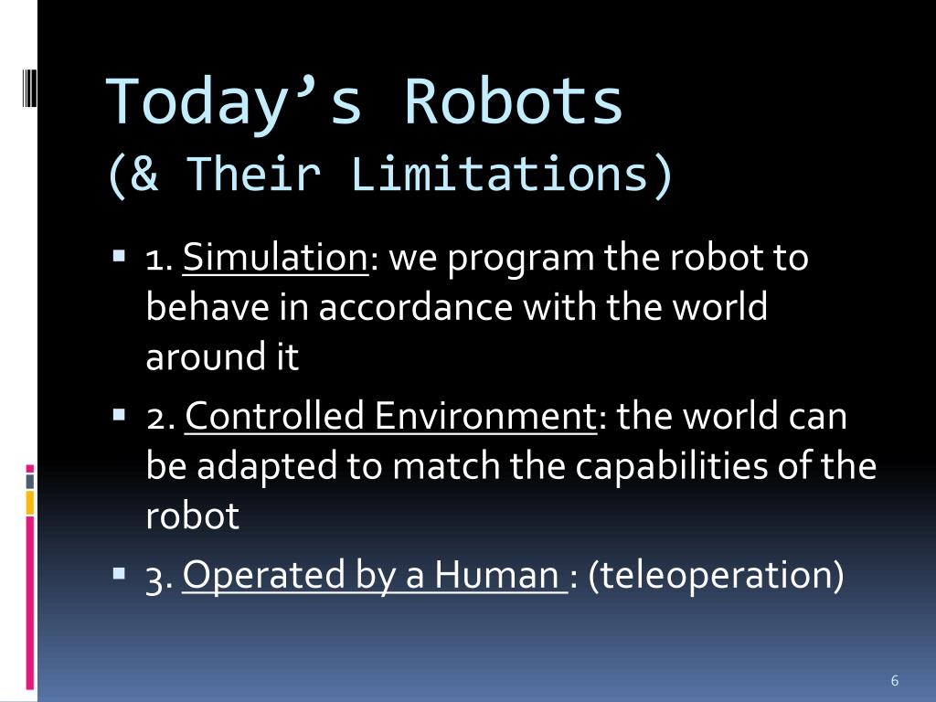 Today's Robots