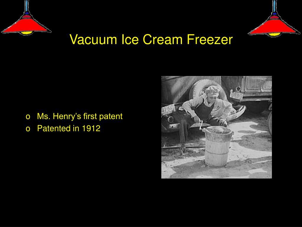Vacuum Ice Cream Freezer