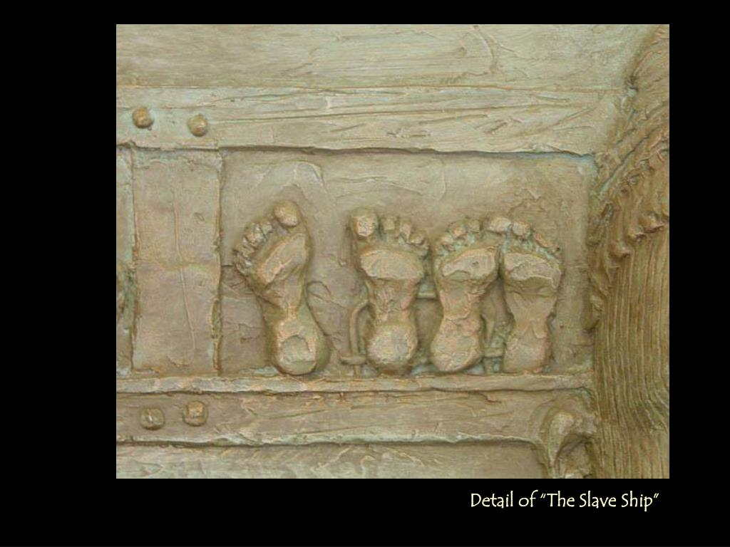 """Detail of """"The Slave"""