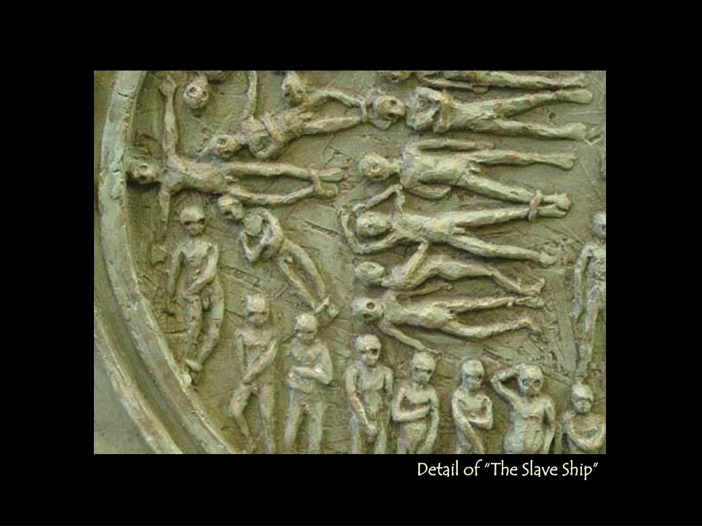 """Detail of """"The Slave Ship"""""""