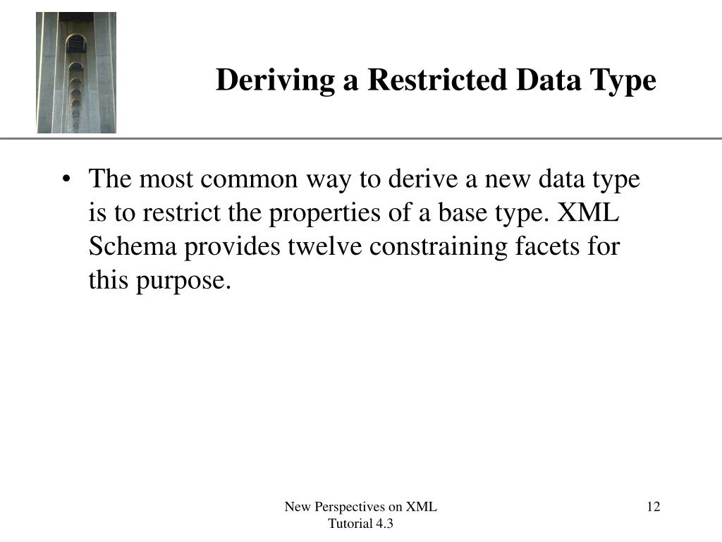 Deriving a Restricted Data Type