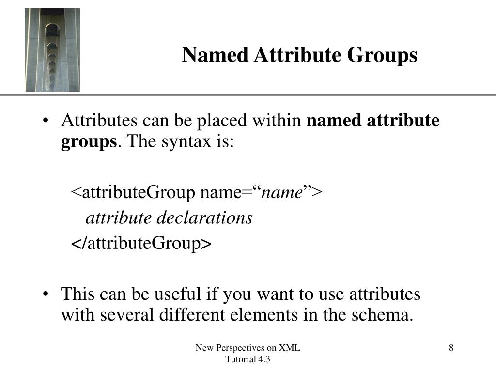 Named Attribute Groups