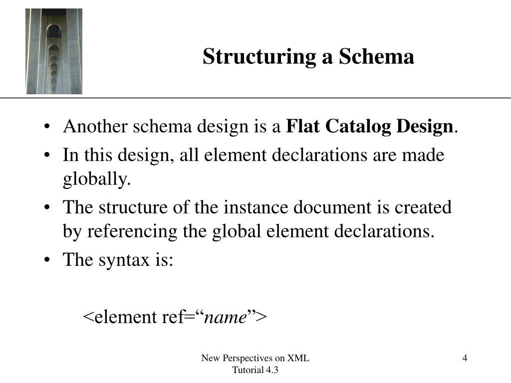 Structuring a Schema