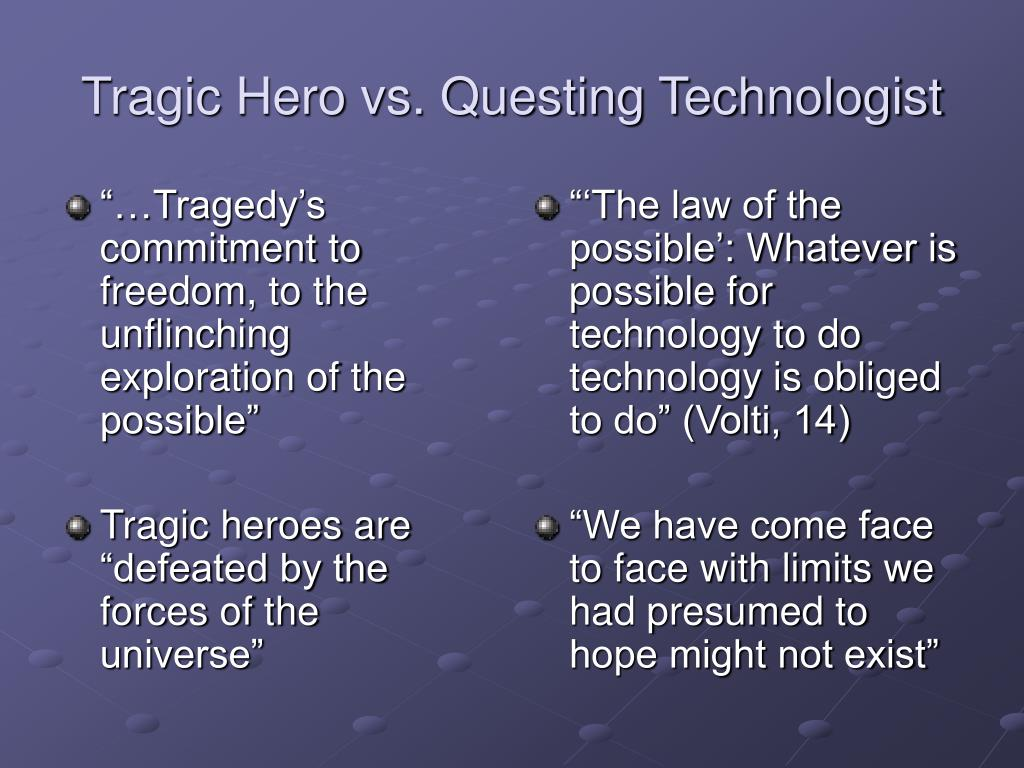 hero vs tragic hero The very qualities that brought a tragic hero to greatness in the first place, they say, entwine the failing that causes the downfall caesar's case as a tragic hero.