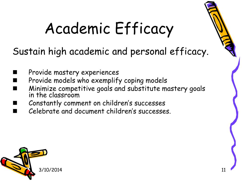 Academic Efficacy