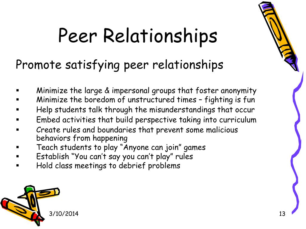 Peer Relationships