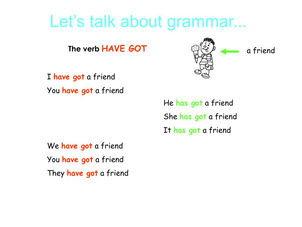 Let's talk about grammar...