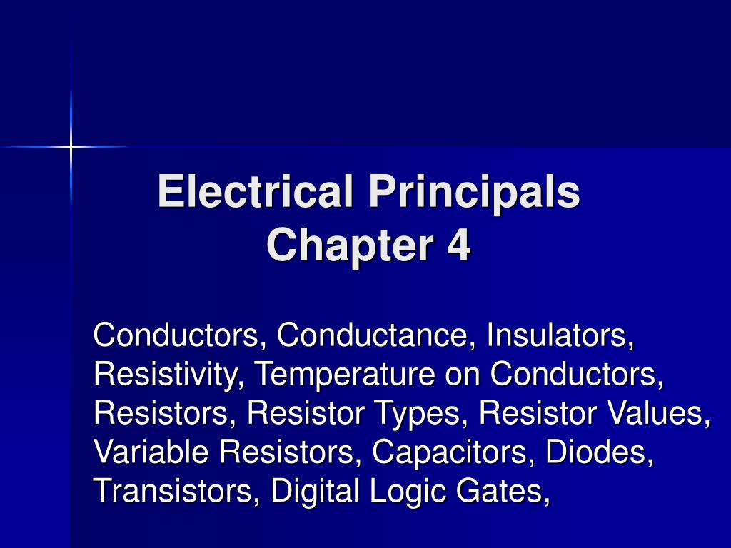 Electrical Principals
