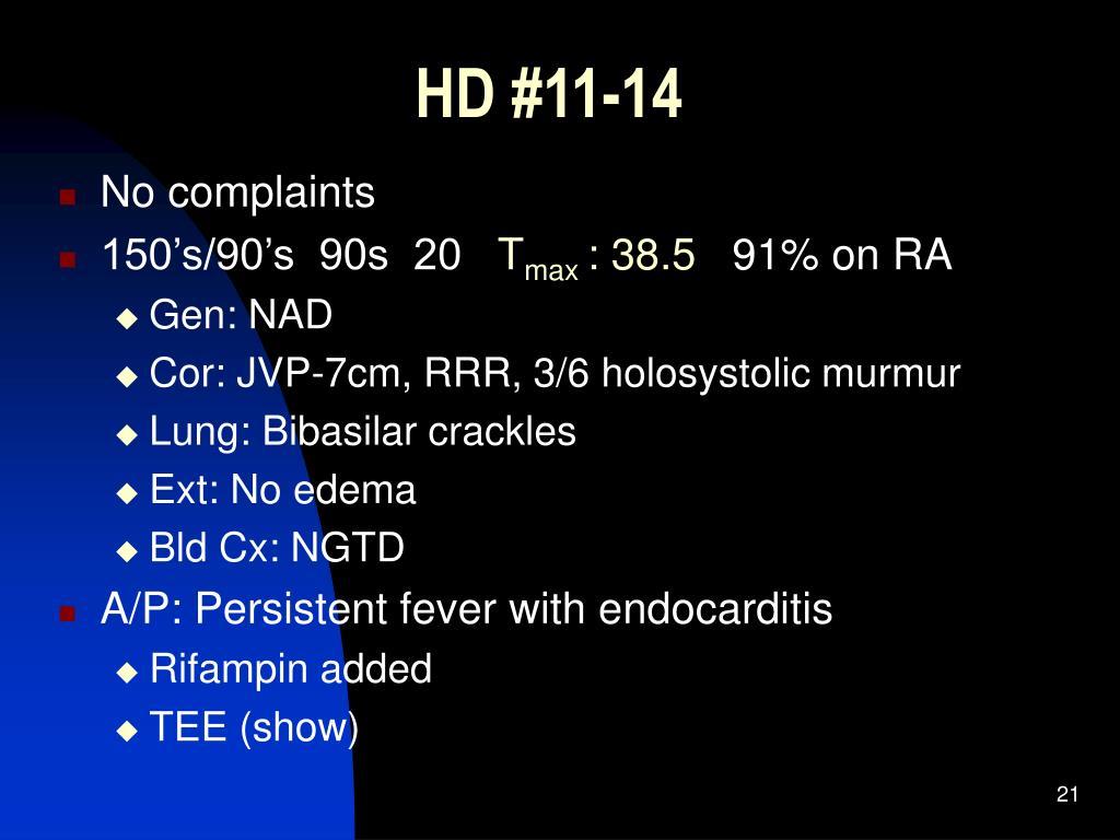 HD #11-14