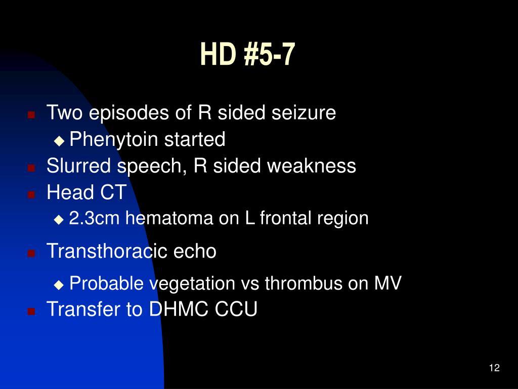 HD #5-7