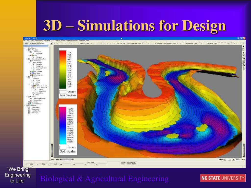 3D – Simulations for Design