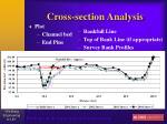 cross section analysis73
