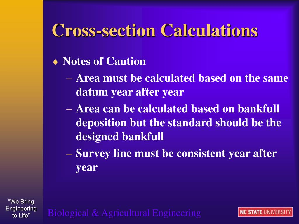 Cross-section Calculations