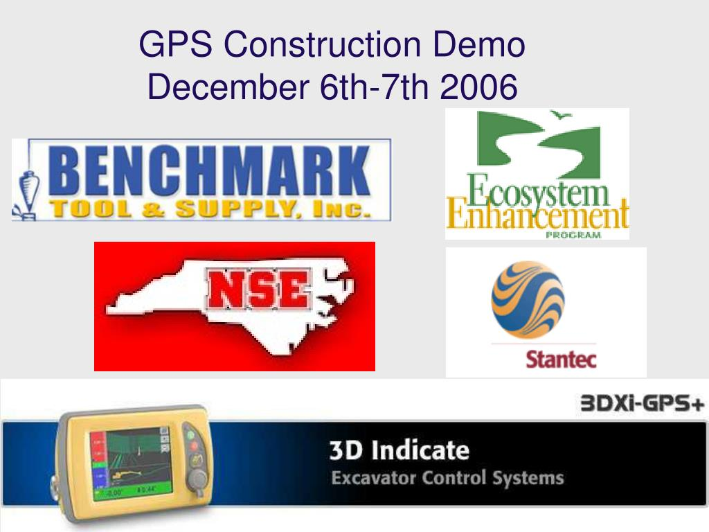 GPS Construction Demo