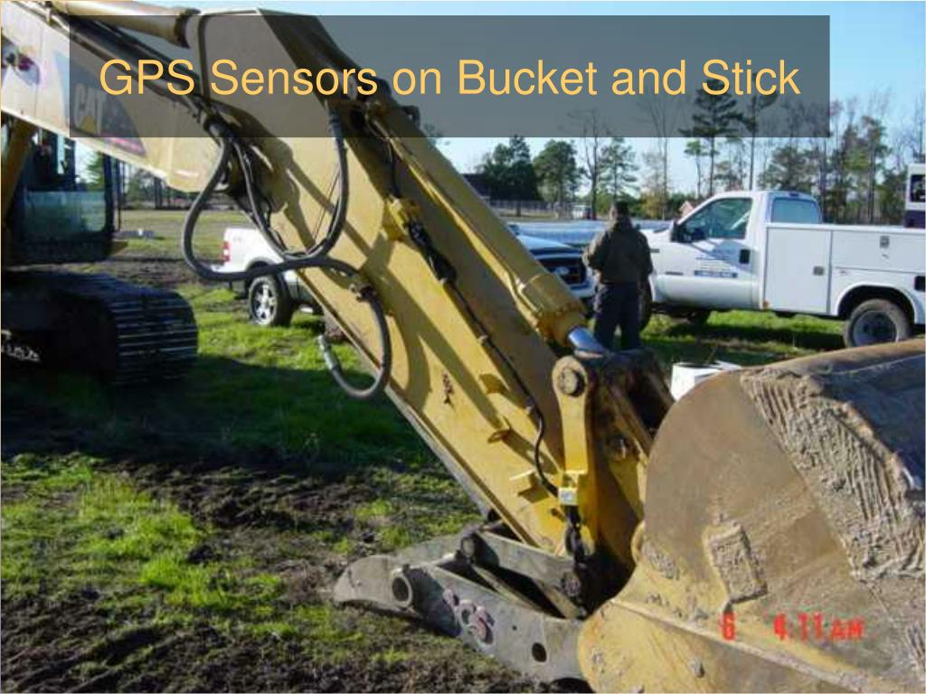 GPS Sensors on Bucket and Stick