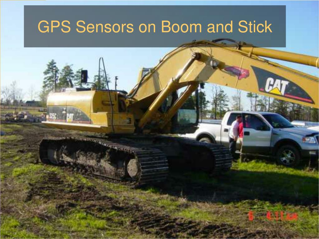 GPS Sensors on Boom and Stick